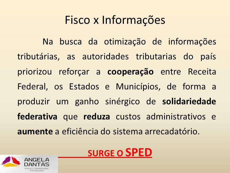 Fisco x Informações