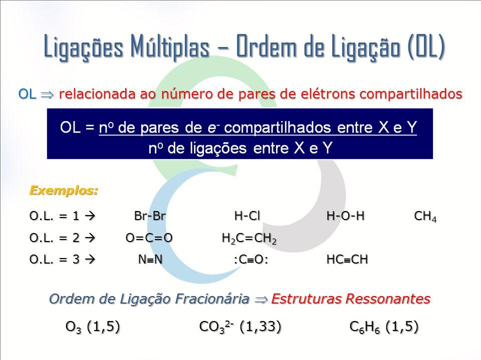 Ligações Múltiplas – Ordem de Ligação (OL)