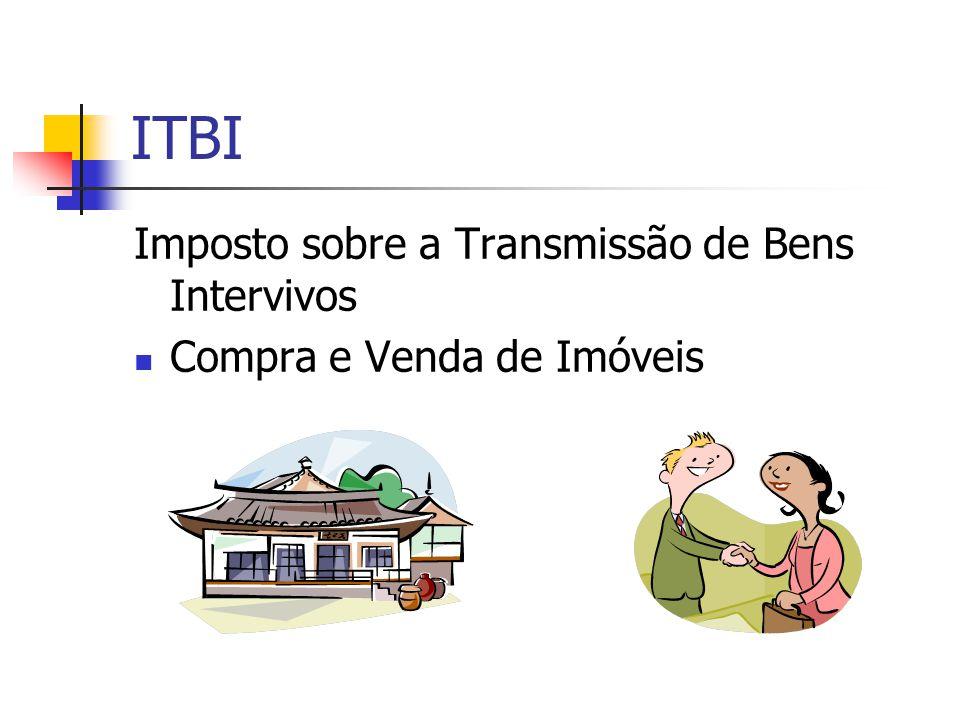 ITBI Imposto sobre a Transmissão de Bens Intervivos