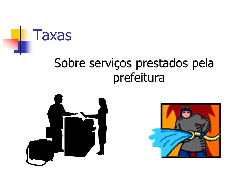 Sobre serviços prestados pela prefeitura