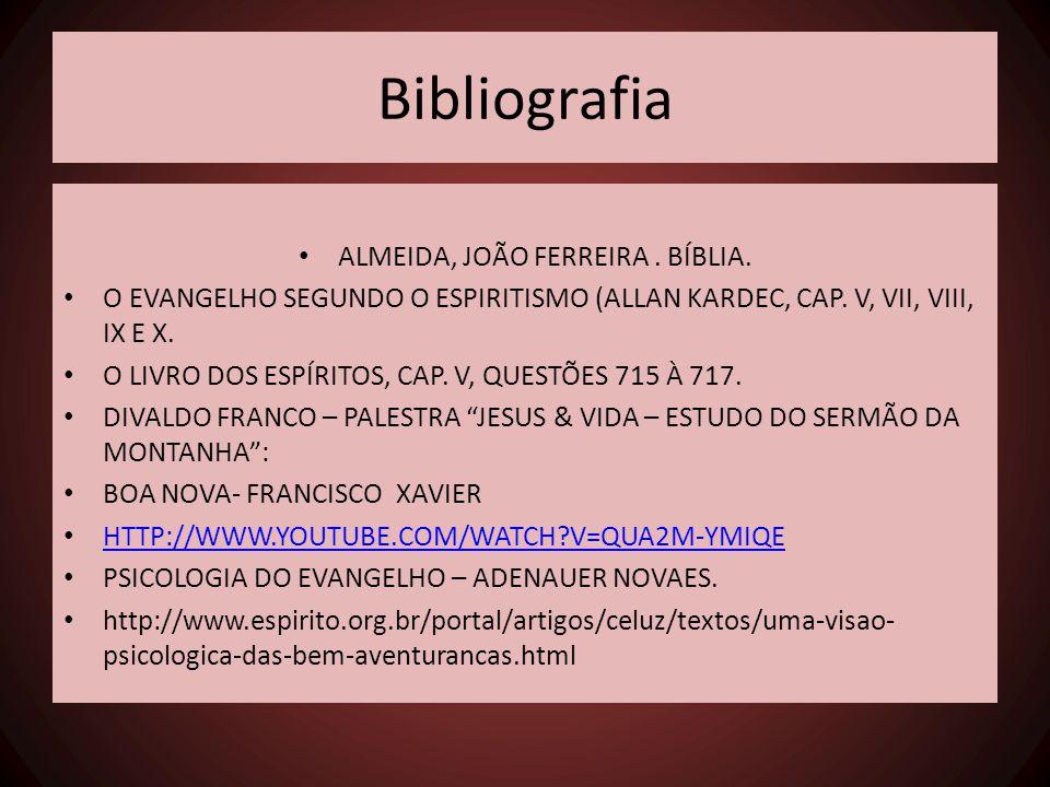 ALMEIDA, JOÃO FERREIRA . BÍBLIA.