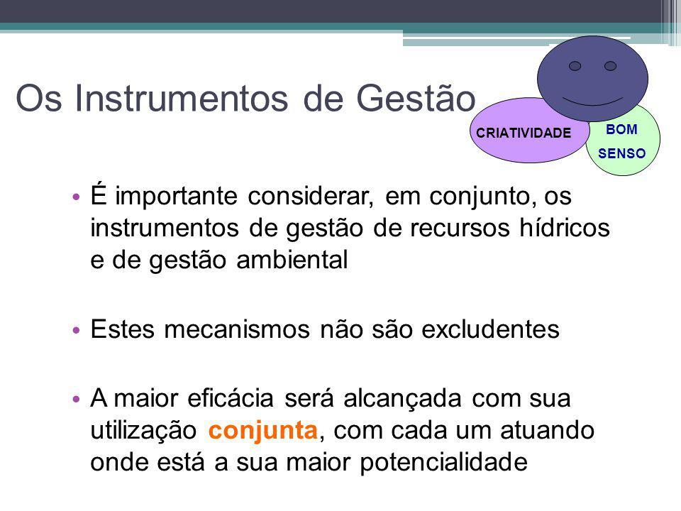 Os Instrumentos de Gestão