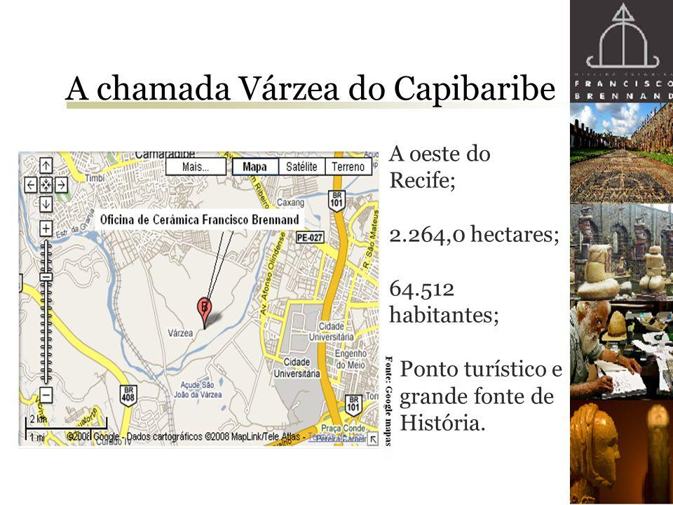 A chamada Várzea do Capibaribe