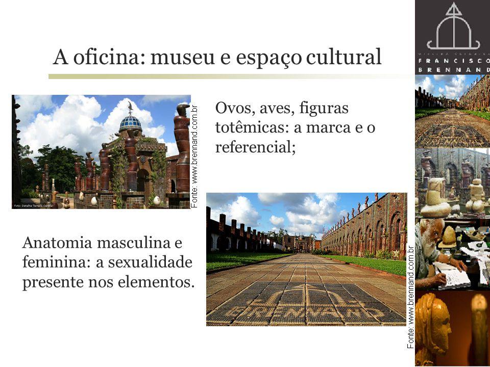A oficina: museu e espaço cultural