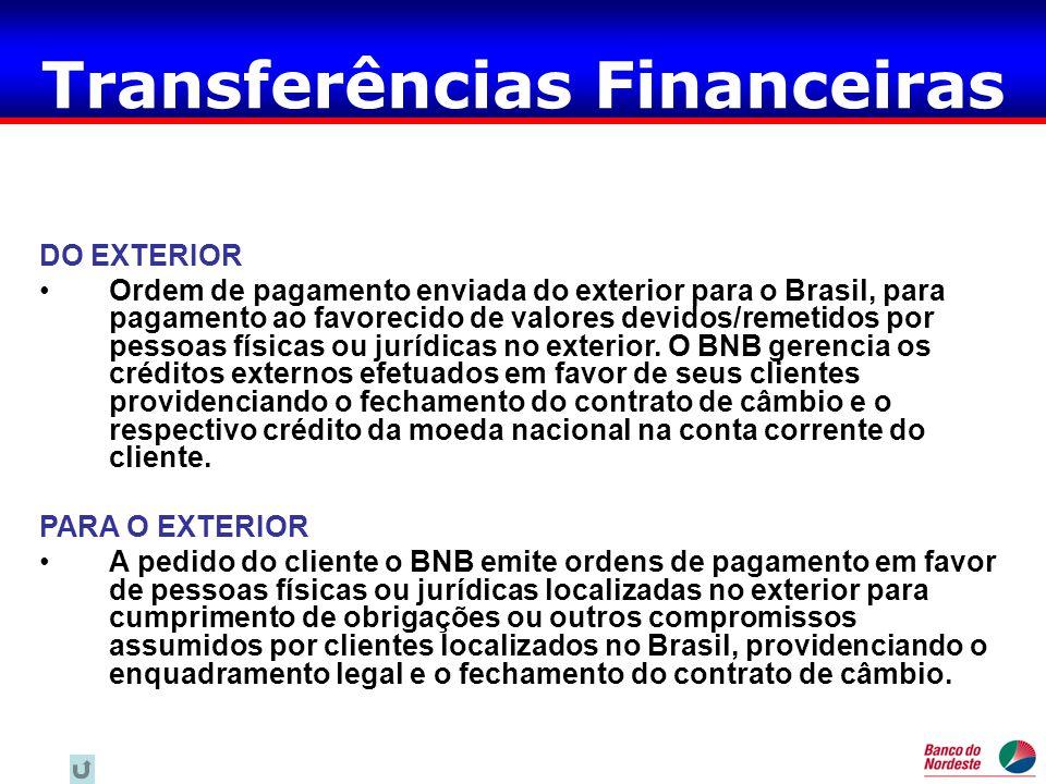 Transferências Financeiras