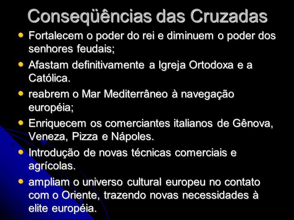 Conseqüências das Cruzadas