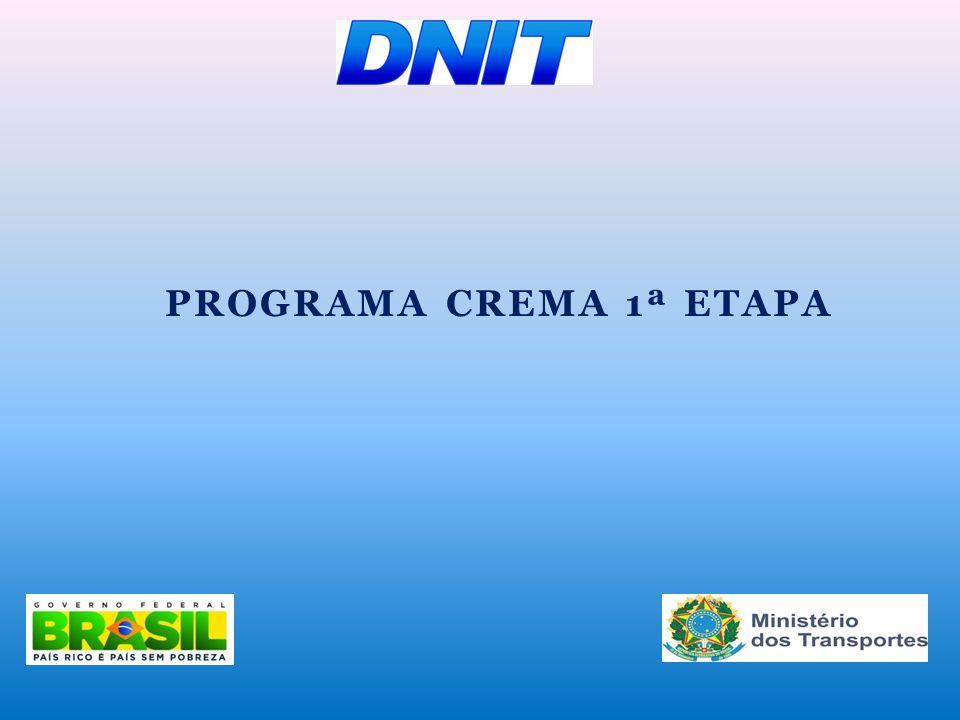 Programa CREMA 1ª Etapa