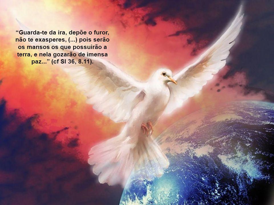 Guarda-te da ira, depõe o furor, não te exasperes, (