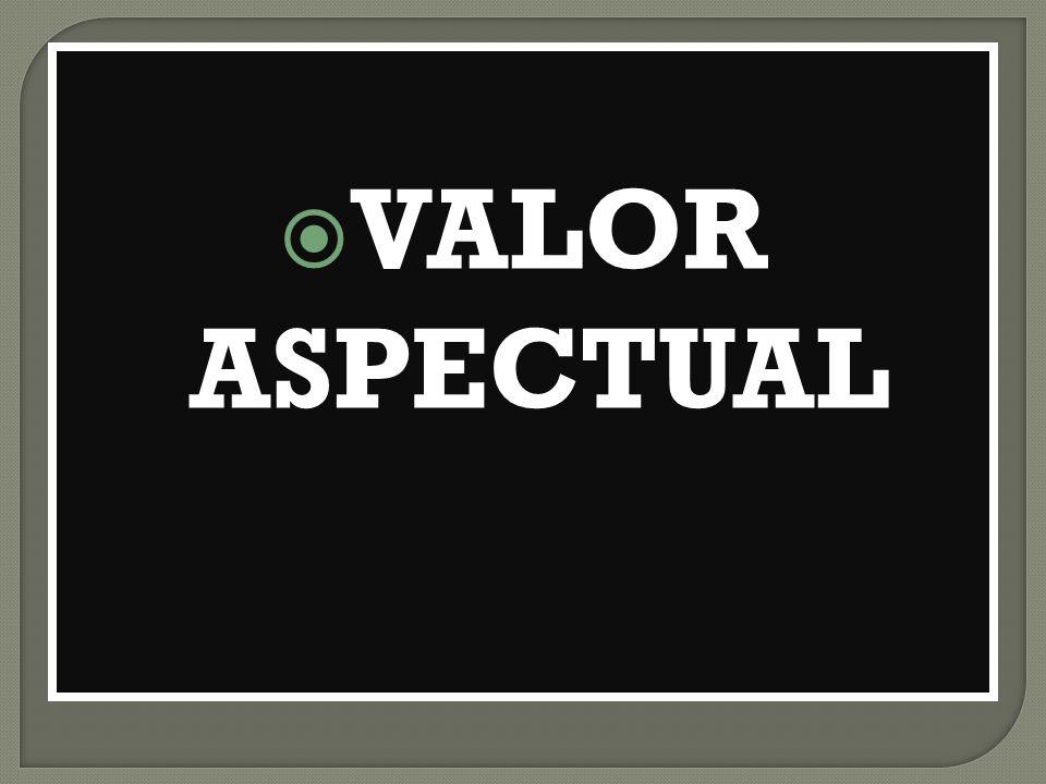 VALOR ASPECTUAL