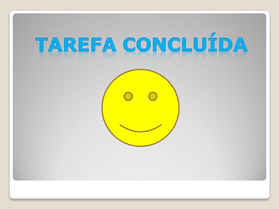 TAREFA CONCLUÍDA