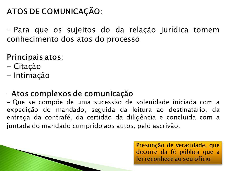 Atos complexos de comunicação