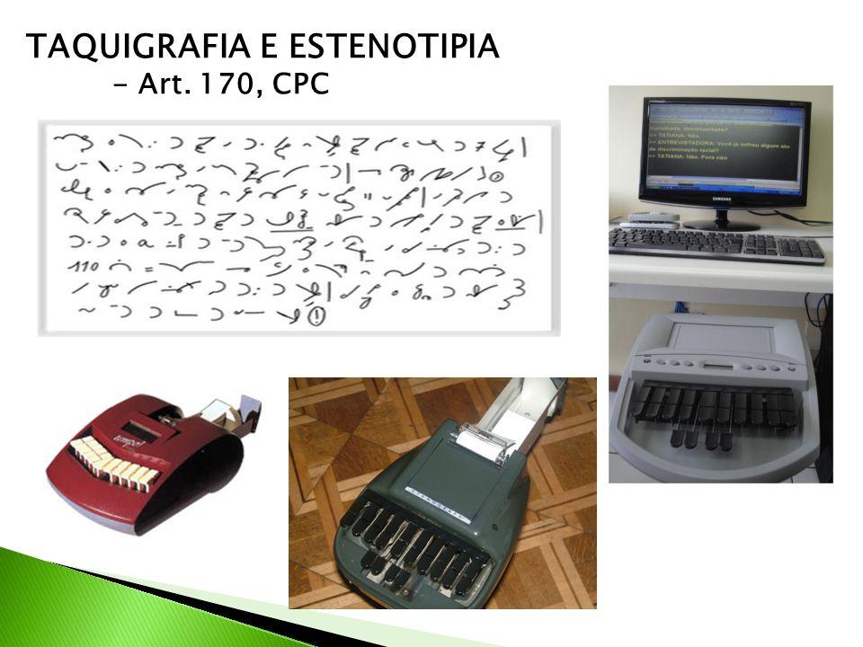 TAQUIGRAFIA E ESTENOTIPIA