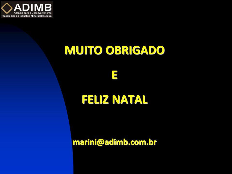 MUITO OBRIGADO E FELIZ NATAL