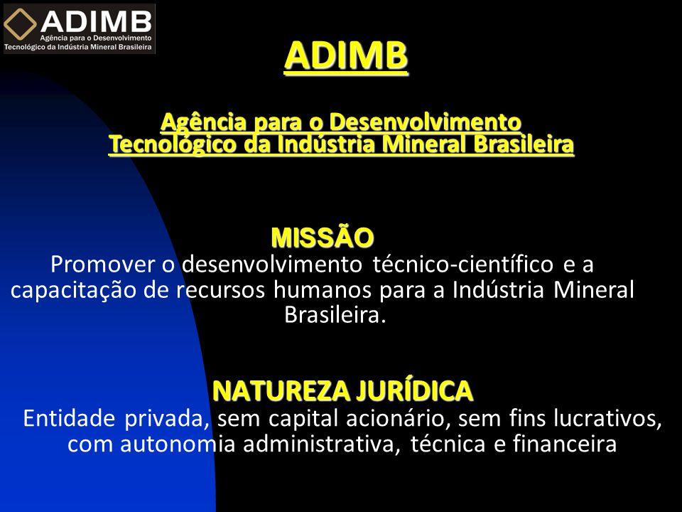ADIMB Agência para o Desenvolvimento Tecnológico da Indústria Mineral Brasileira