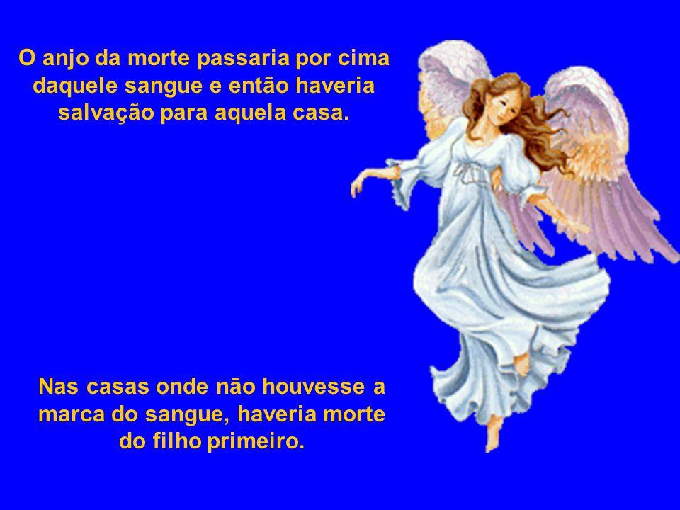 O anjo da morte passaria por cima daquele sangue e então haveria salvação para aquela casa.