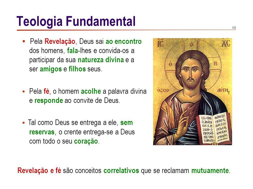 Teologia Fundamental Distinguem-se duas formas de conhecer: o ver e o crer. Quando vemos algo, chegamos directamente.