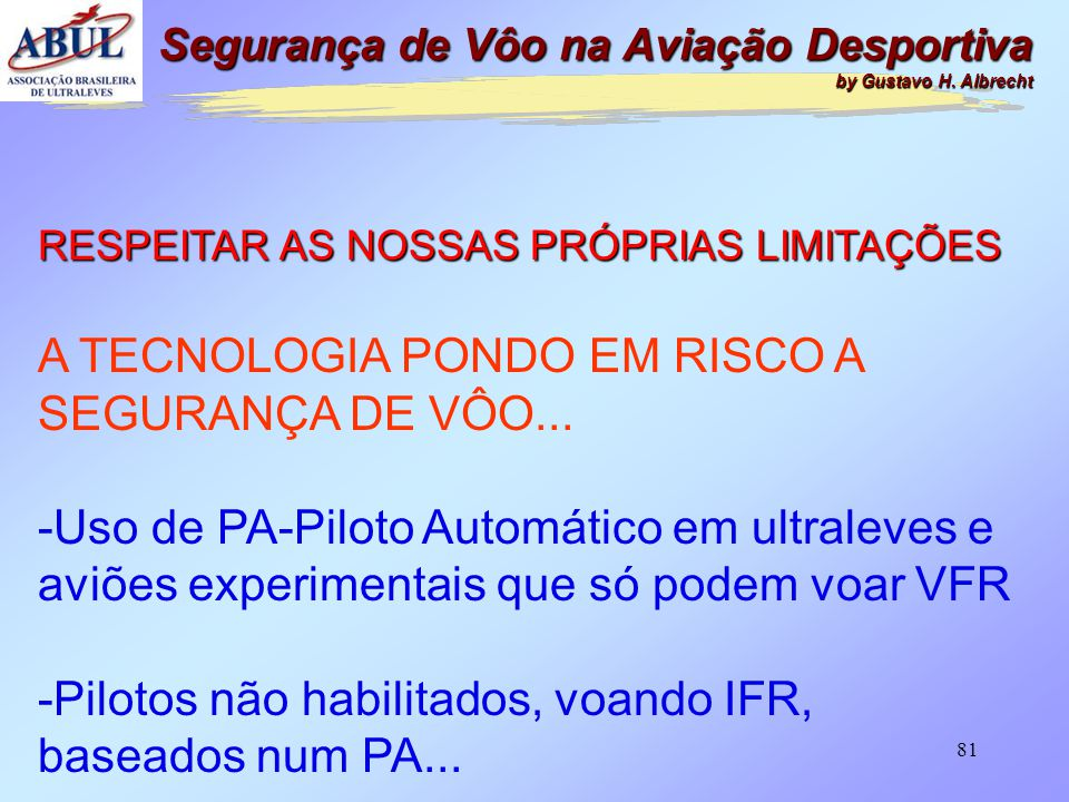A TECNOLOGIA PONDO EM RISCO A SEGURANÇA DE VÔO...