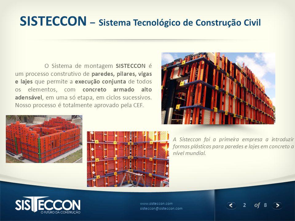 SISTECCON – Sistema Tecnológico de Construção Civil