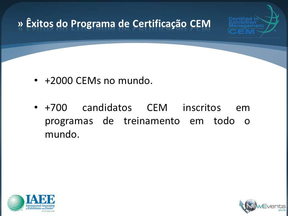 » Êxitos do Programa de Certificação CEM