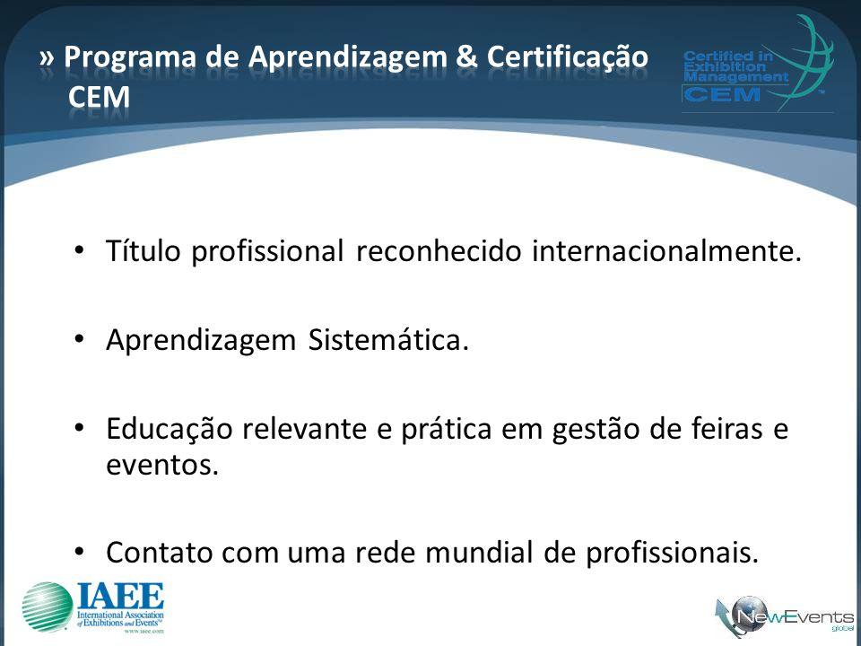 » Programa de Aprendizagem & Certificação CEM
