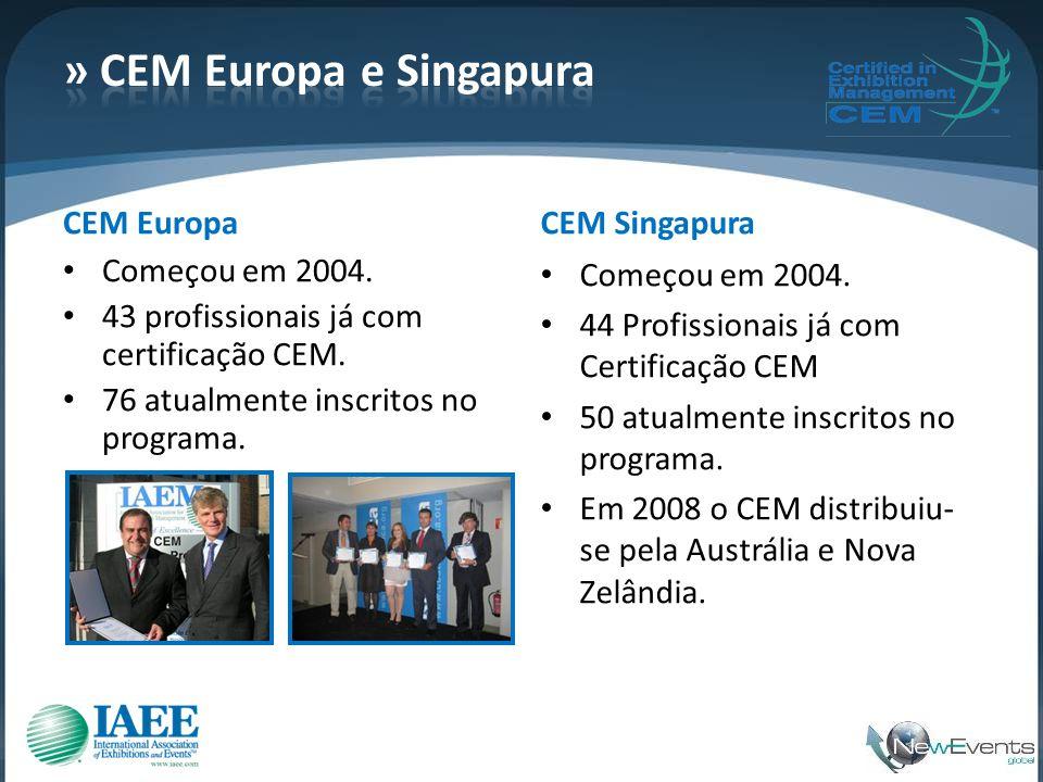 » CEM Europa e Singapura