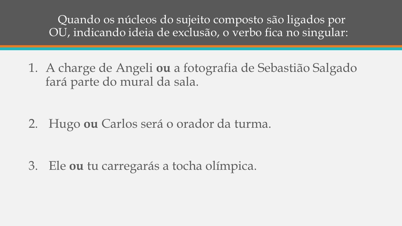 Hugo ou Carlos será o orador da turma.