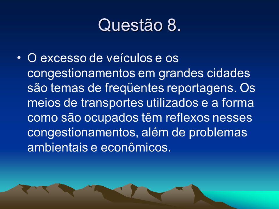 Questão 8.