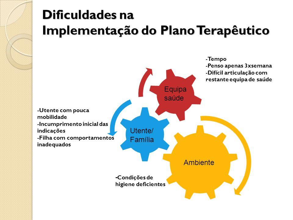 Implementação do Plano Terapêutico