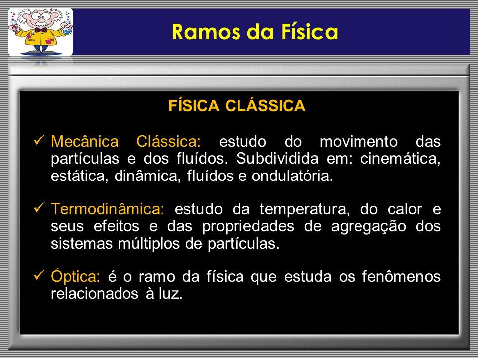 Ramos da Física FÍSICA CLÁSSICA