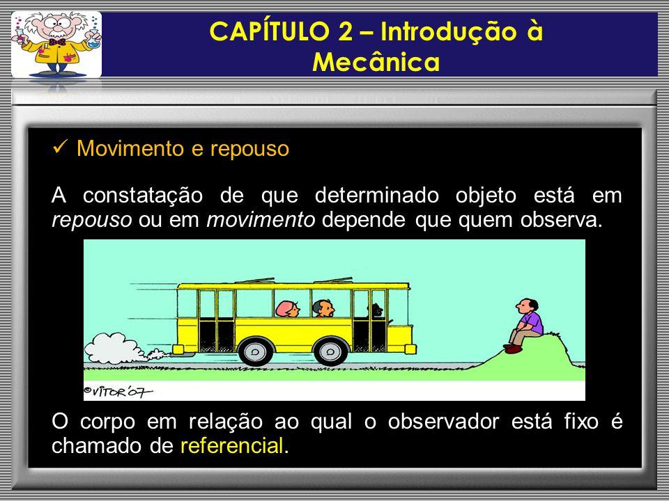CAPÍTULO 2 – Introdução à Mecânica