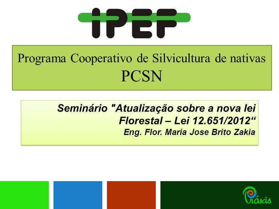 Programa Cooperativo de Silvicultura de nativas