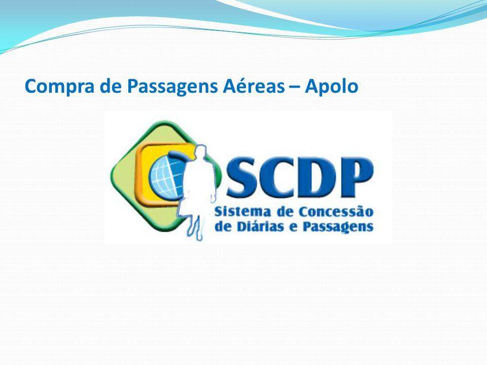 Compra de Passagens Aéreas – Apolo