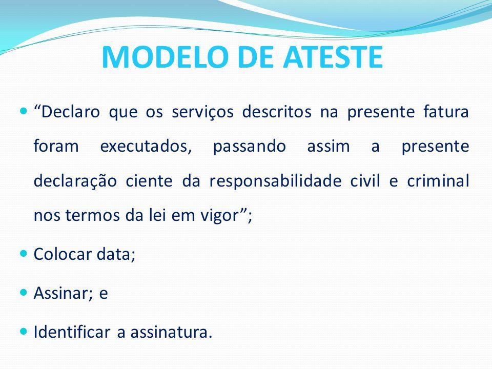 MODELO DE ATESTE