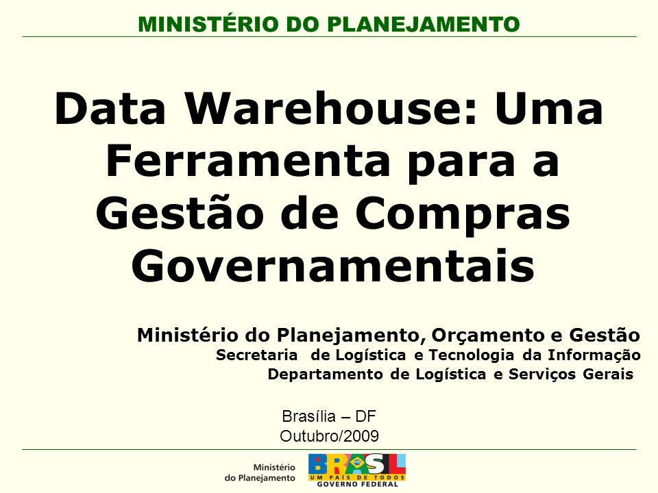 Data Warehouse: Uma Ferramenta para a Gestão de Compras Governamentais