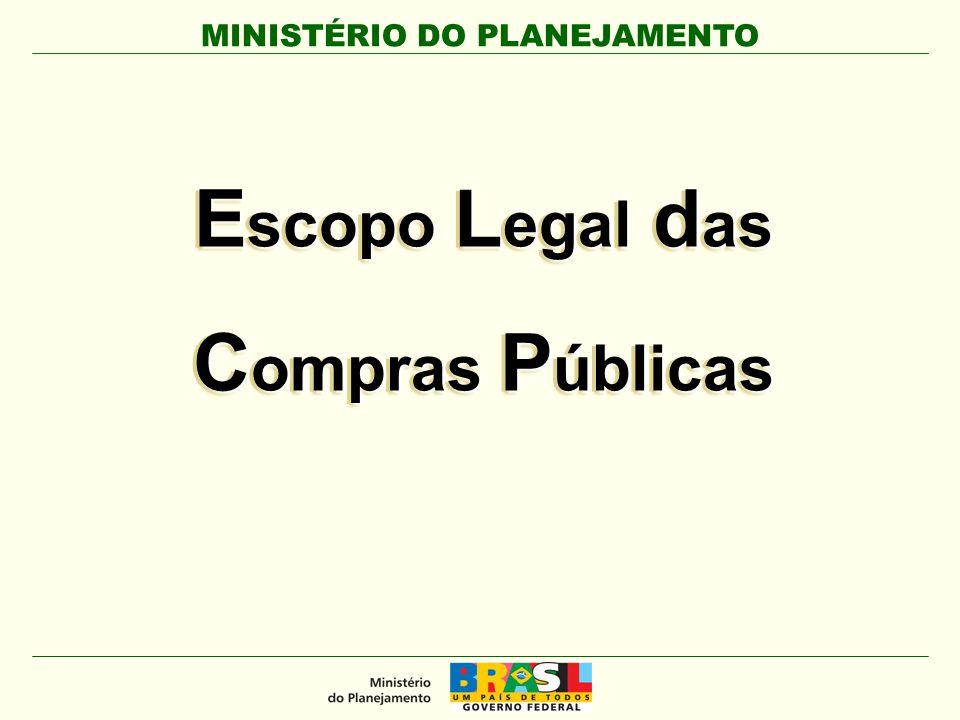 Escopo Legal das Compras Públicas