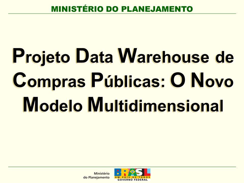 Projeto Data Warehouse de Compras Públicas: O Novo Modelo Multidimensional