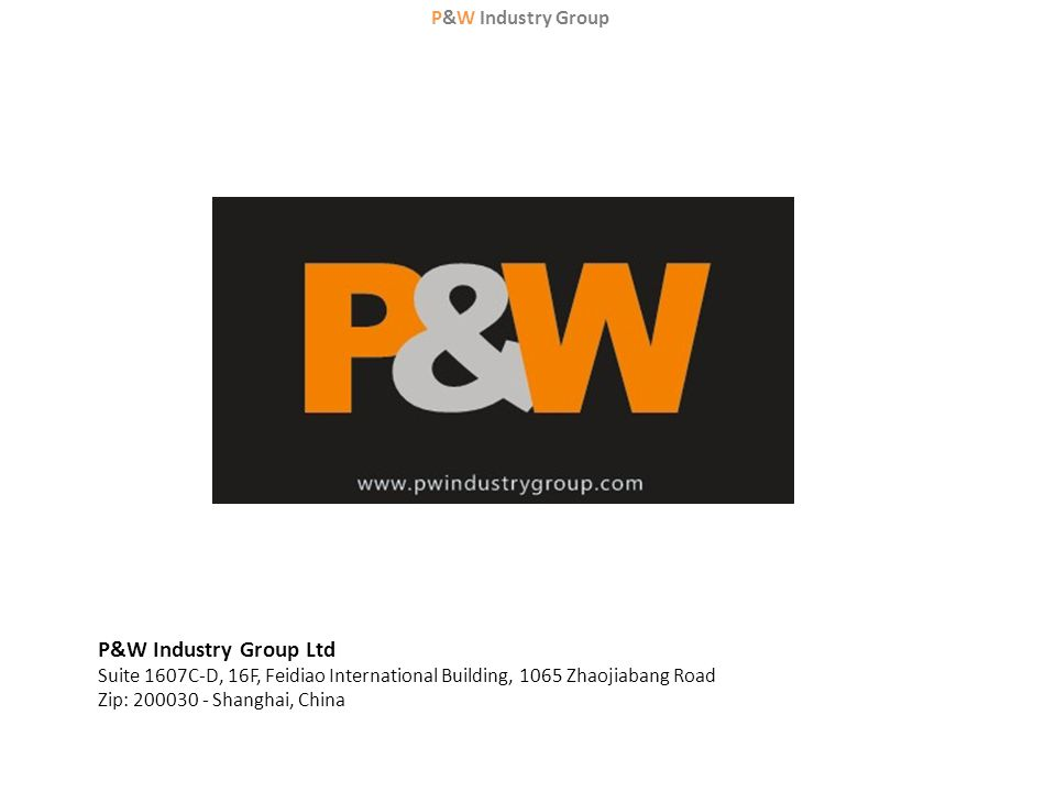 P&W Industry Group