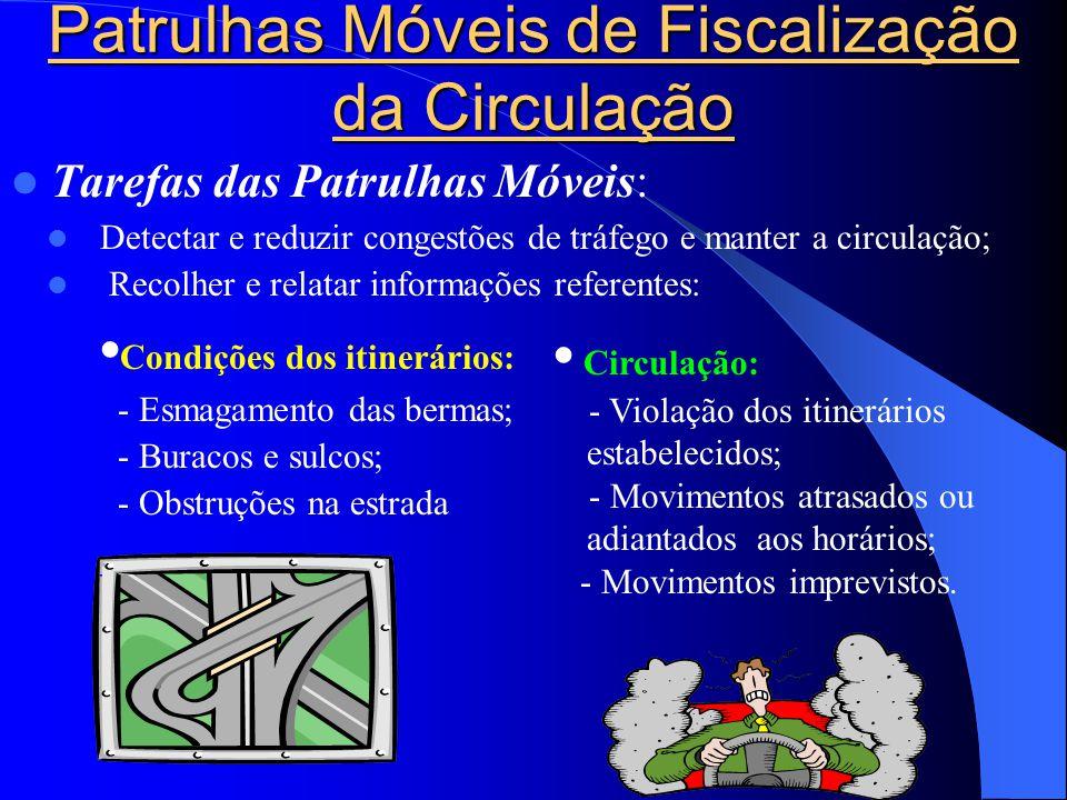 Patrulhas Móveis de Fiscalização da Circulação