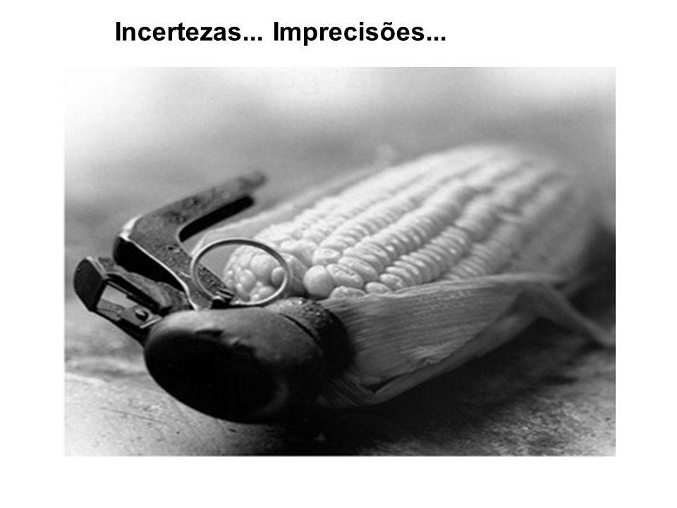 Incertezas... Imprecisões...