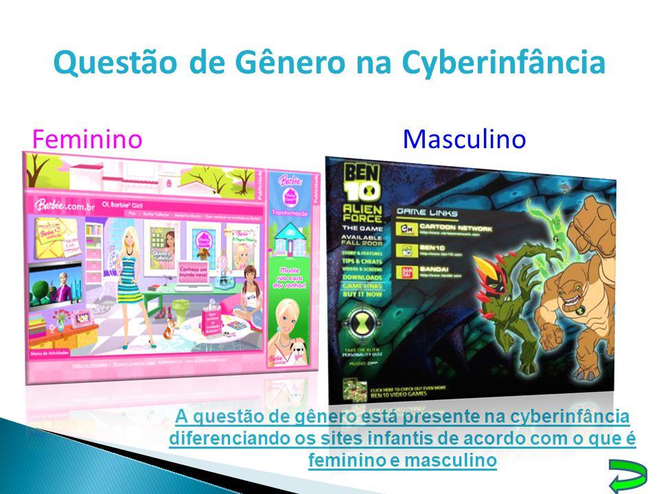 Questão de Gênero na Cyberinfância