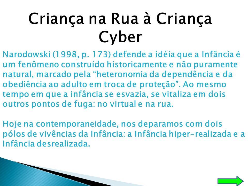 Criança na Rua à Criança Cyber