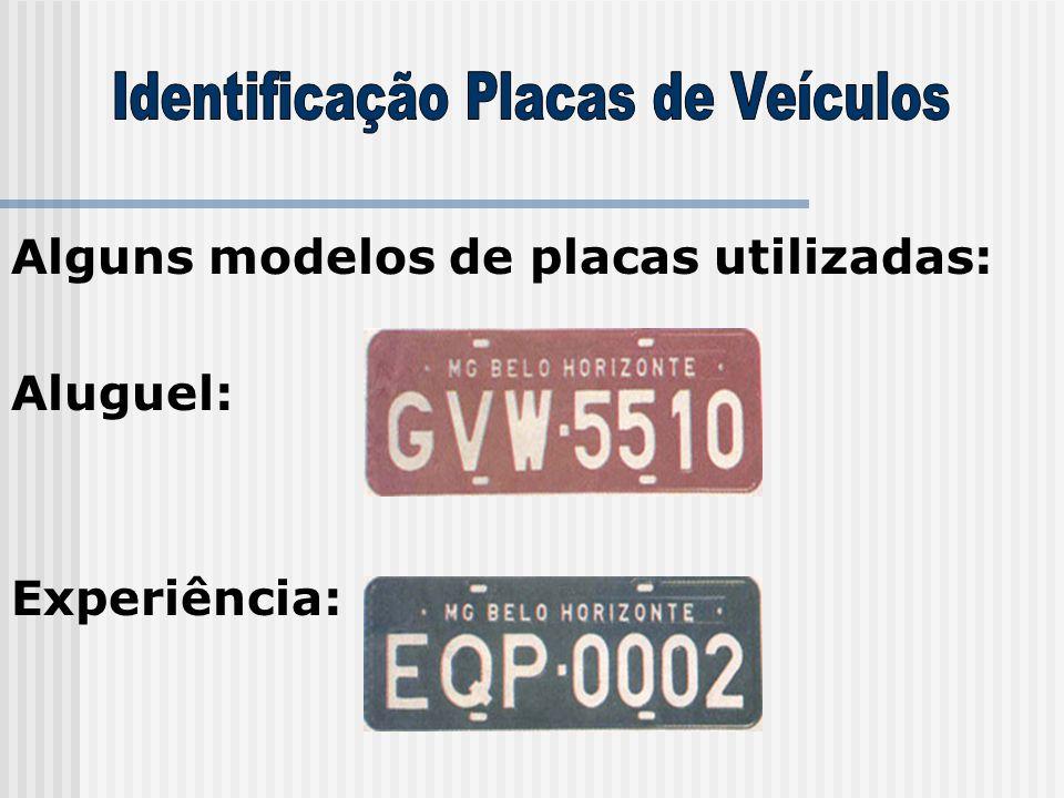 Identificação Placas de Veículos