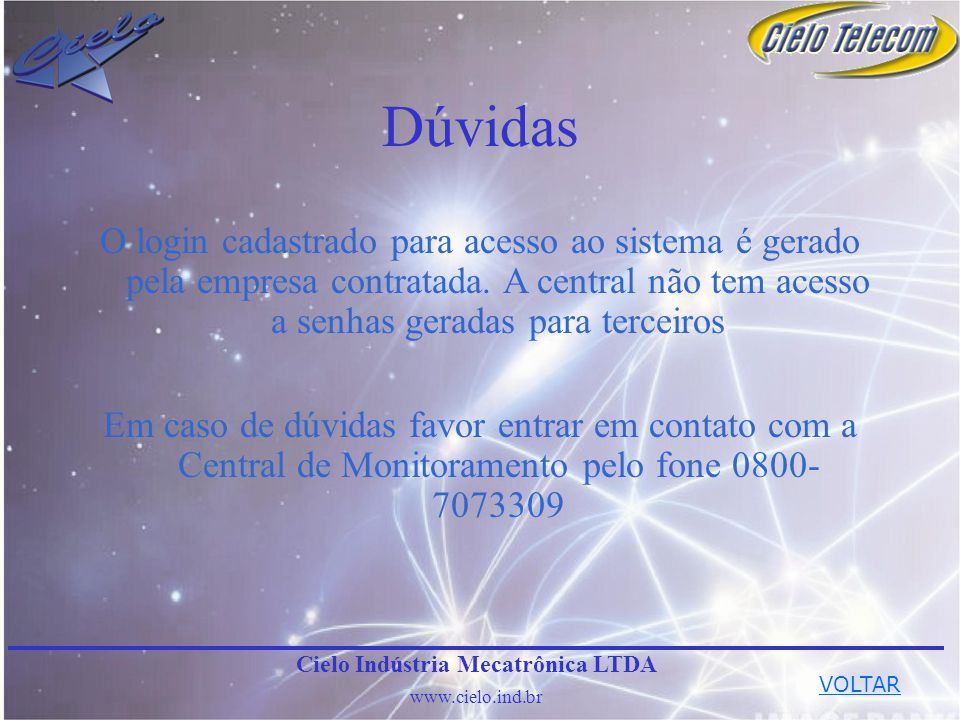 Cielo Indústria Mecatrônica LTDA