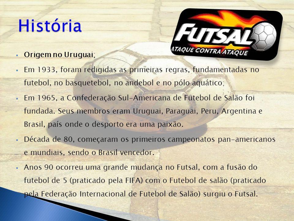 História Origem no Uruguai;
