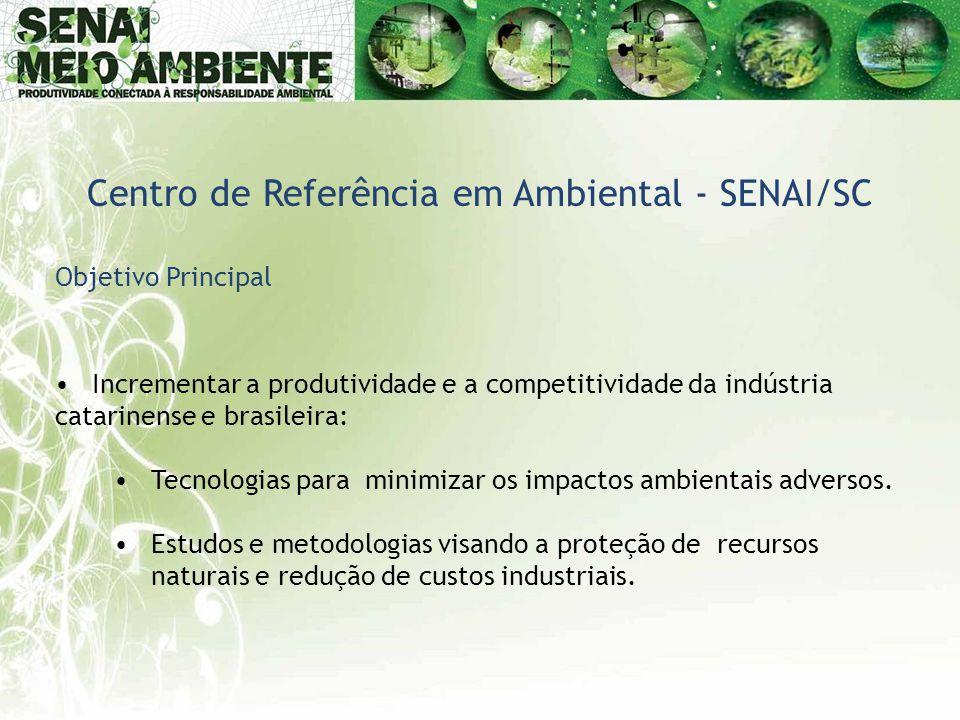 Centro de Referência em Ambiental - SENAI/SC