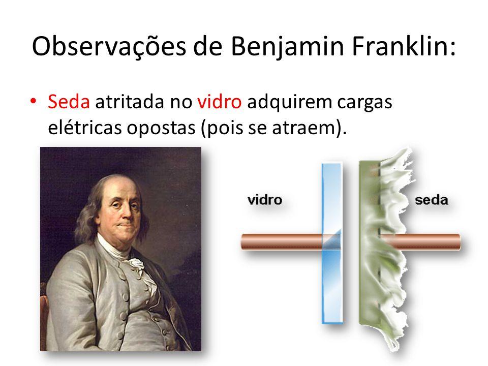 Observações de Benjamin Franklin:
