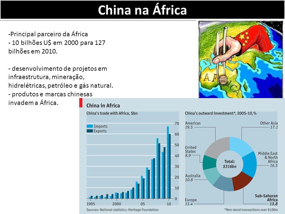 China na África Principal parceiro da África