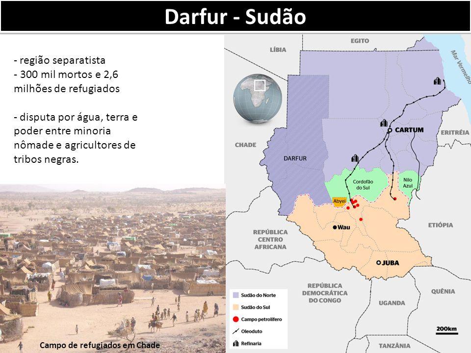 Darfur - Sudão região separatista