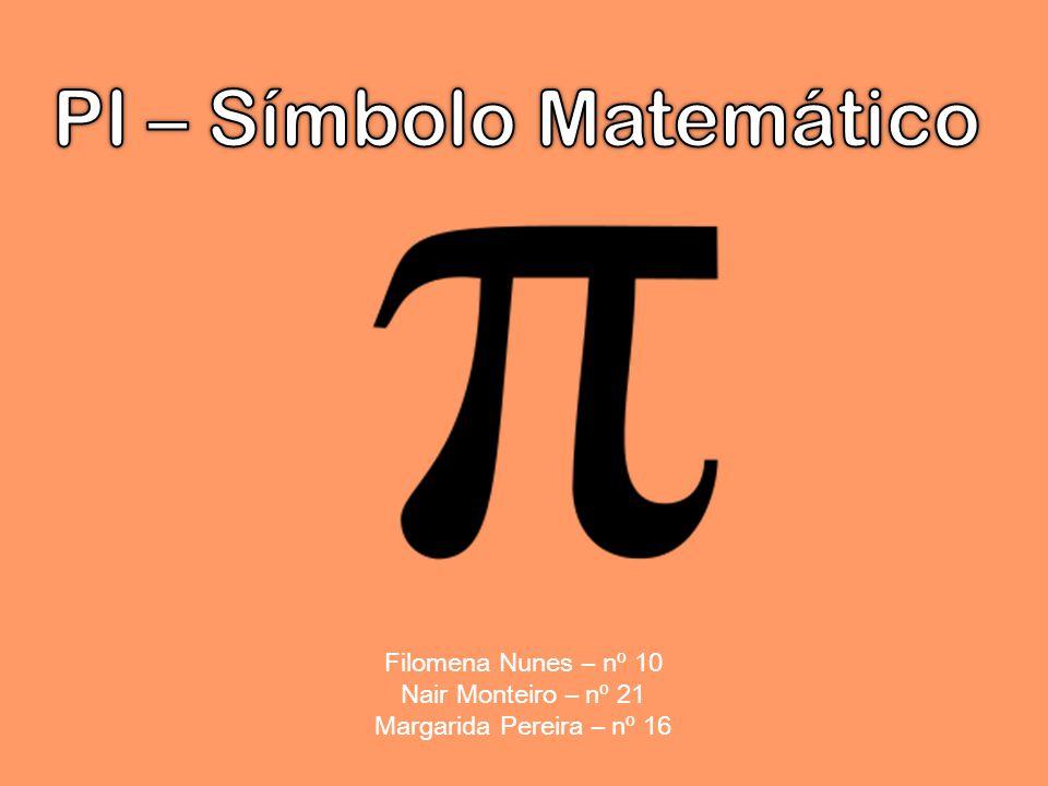 PI – Símbolo Matemático