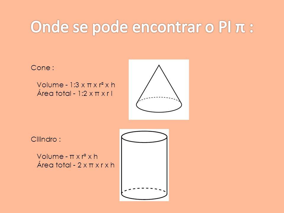 Onde se pode encontrar o PI π :